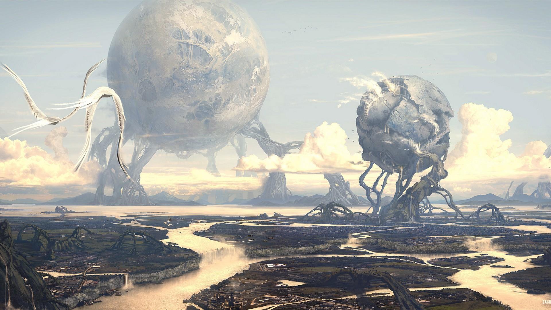 Best Fantasy Art Wallpaper Hd With High-resolution - Fantasy World - HD Wallpaper