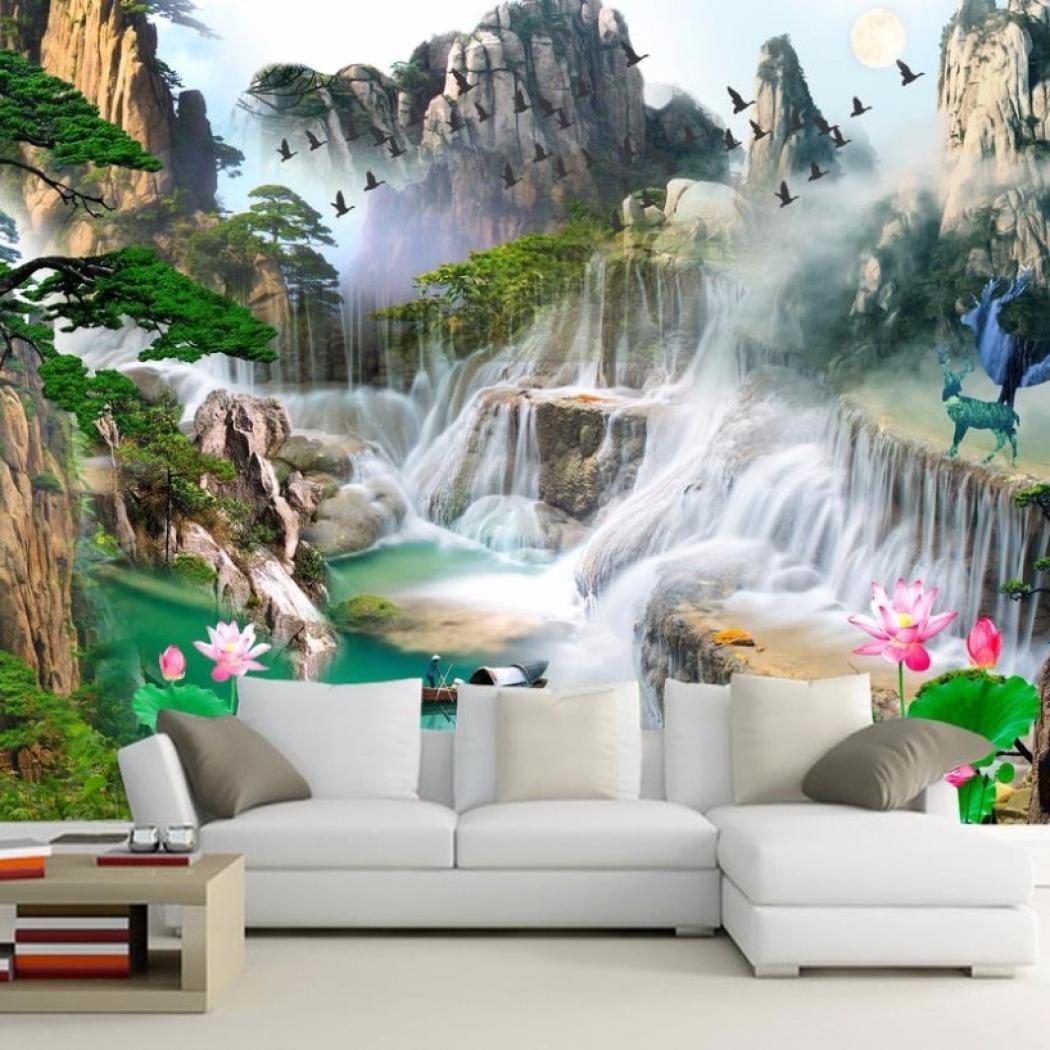 Senarai Harga 3d Wall Murals 3d Wallpaper For Living - Wall Paper Wallpaper Hd Download - HD Wallpaper