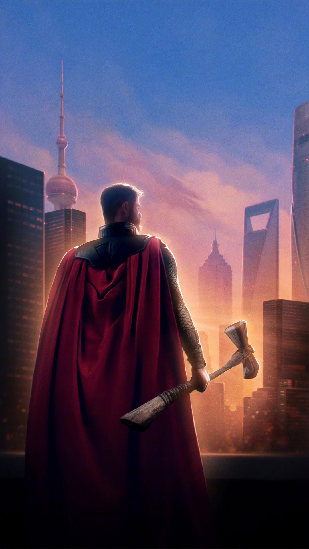 Avengers Endgame 2019 Wallpaper Phone With High-resolution - Thor Wallpaper Iphone 7 Plus - HD Wallpaper