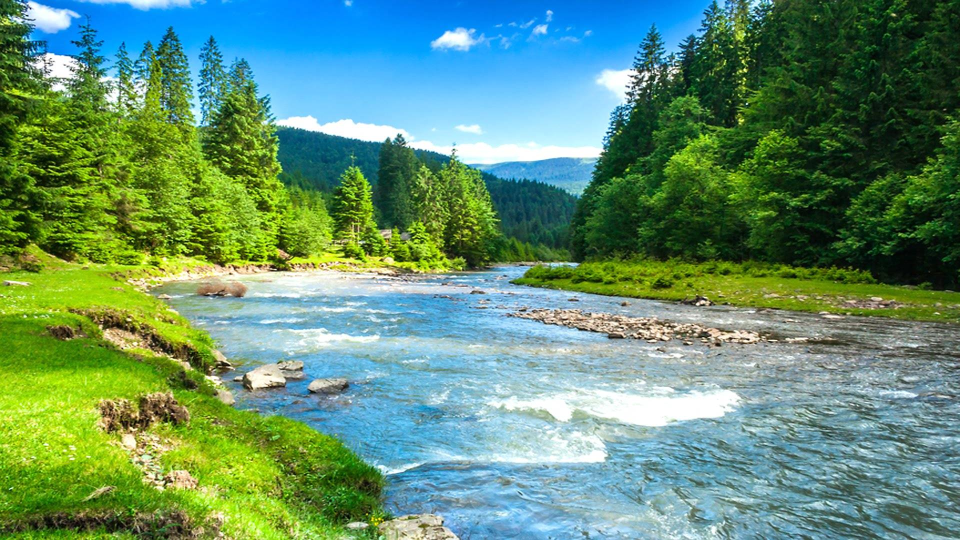 Nature Wallpaper For Pc Full Hd Pictures For Pc Mac Beautiful River 1920x1080 Wallpaper Teahub Io