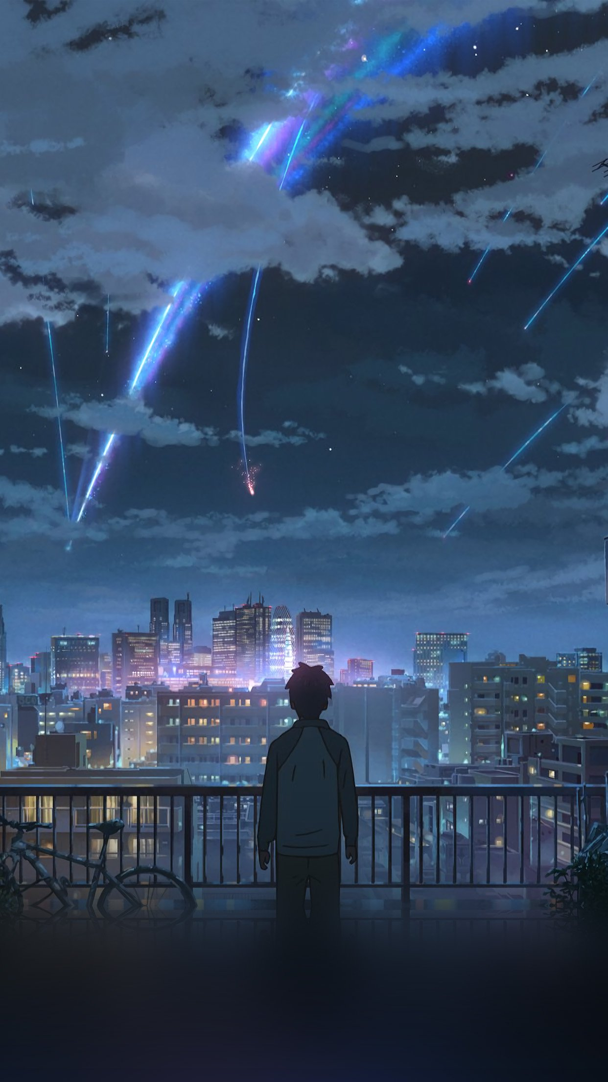 Flares Yourname Anime Android Wallpaper Anime Wallpaper Gif Iphone 1242x2208 Wallpaper Teahub Io