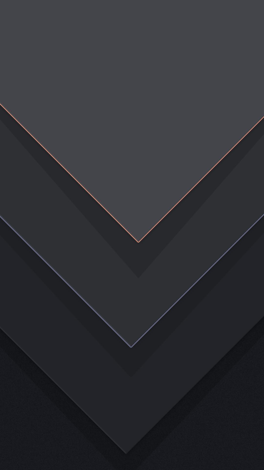 1080x1920 Dark Grey Material Andro Dark Wallpaper For Android Phone 1080x1920 Wallpaper Teahub Io