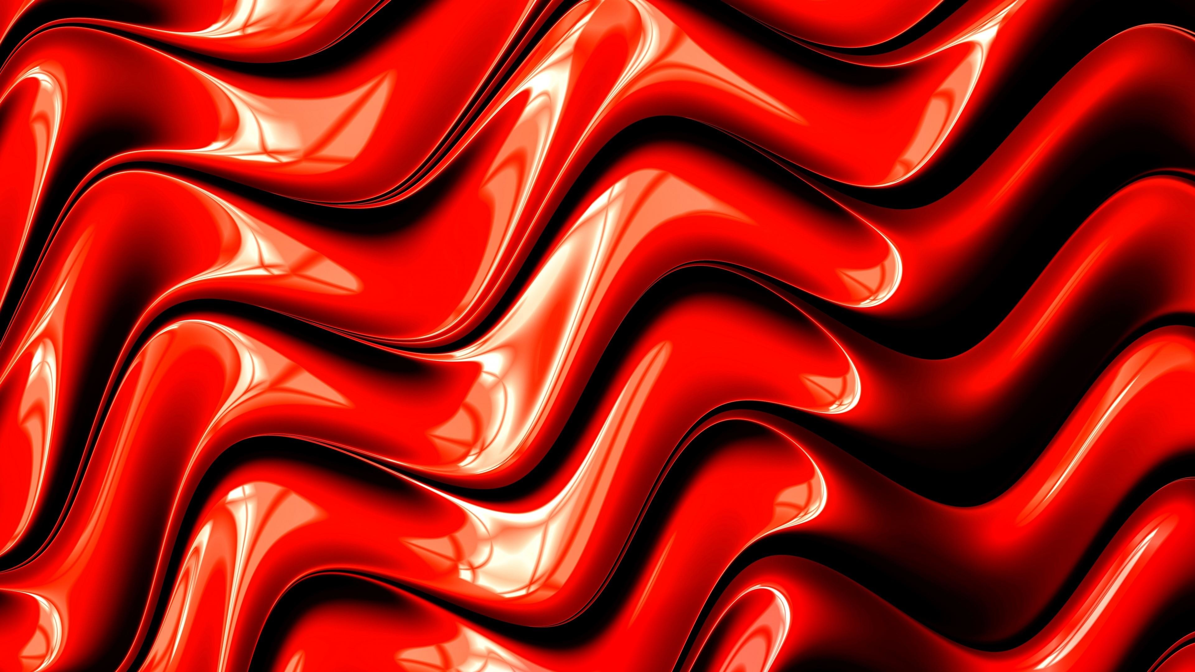 Cool Red 3d Graphic Design Wallpaper ...