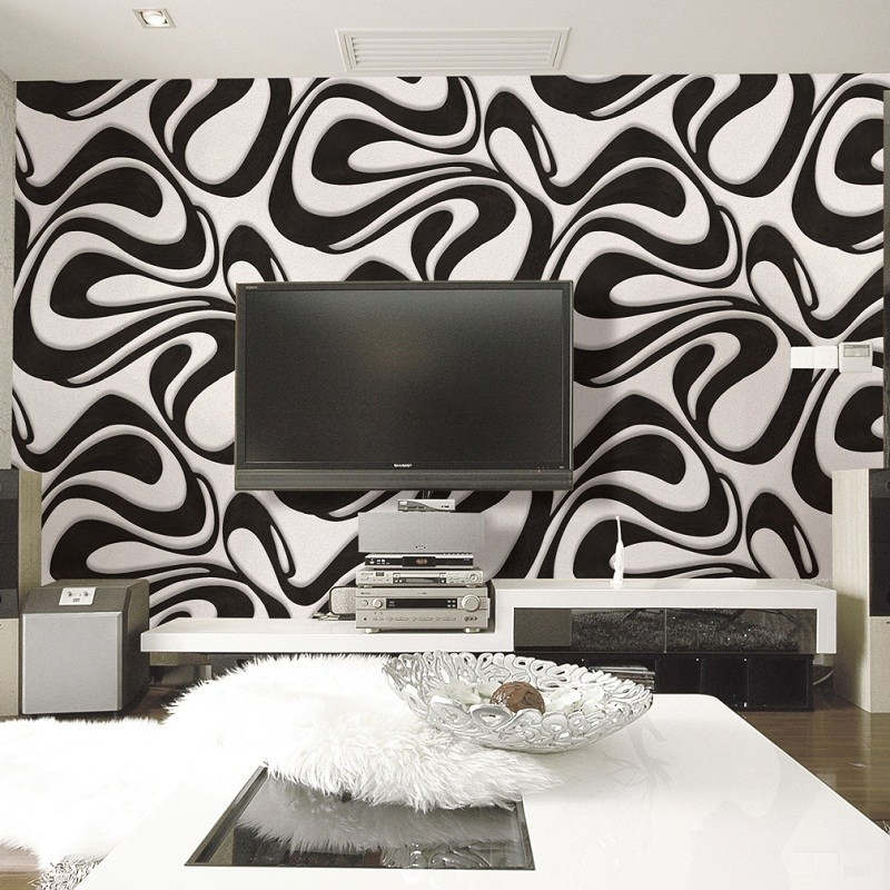 Room Wallpaper Designs Black And White, Wallpaper Designs For Living Room In Nigeria