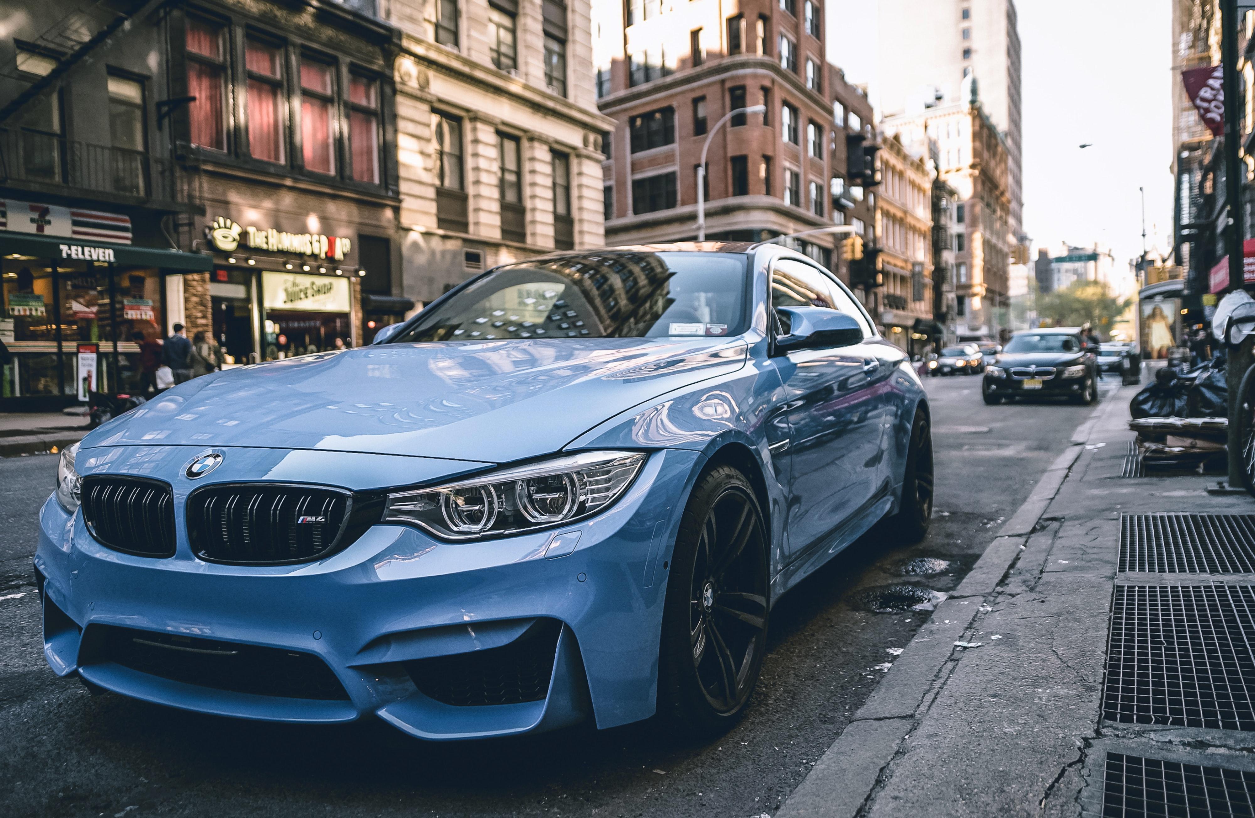 Bmw M4 Coupe Wallpaper 4k Blue - 4000x2609 Wallpaper ...