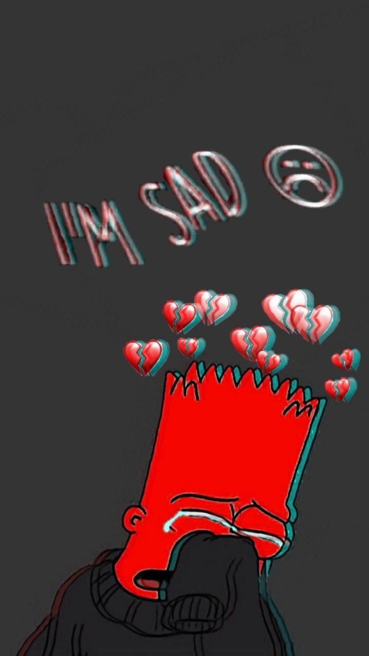Sad Wallpapers Simpsons - HD Wallpaper