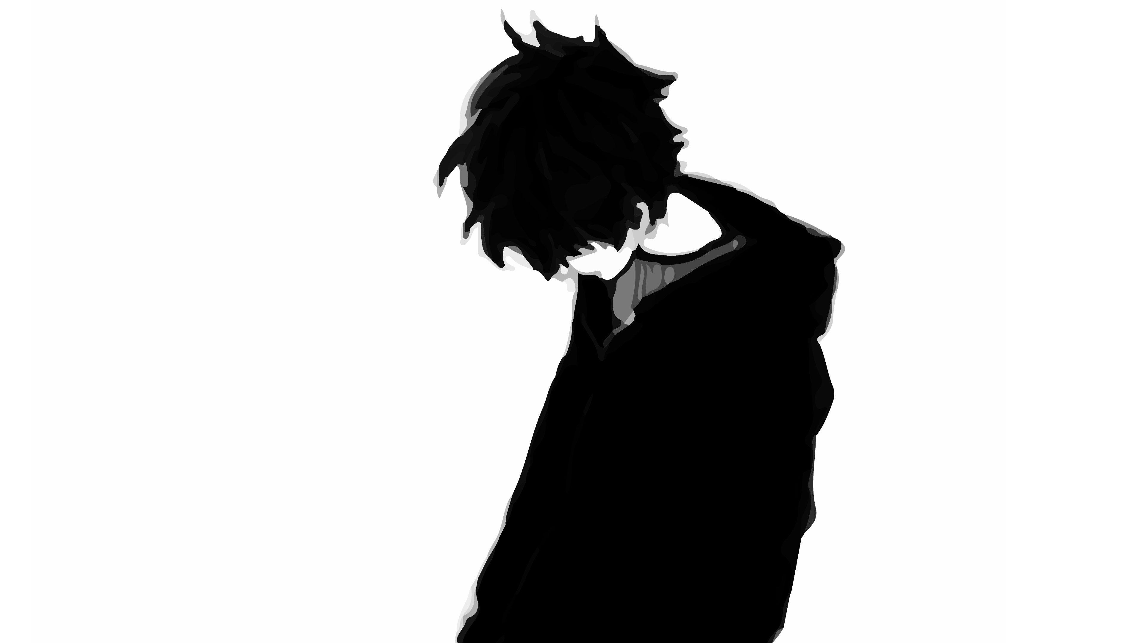 Anime Crying Sad Boy 3840x2160 Wallpaper Teahub Io