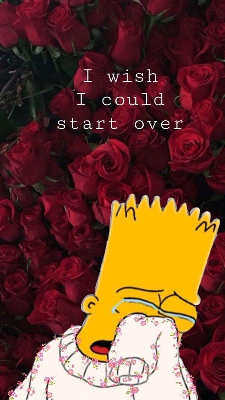 Pin On Sad Wallpaper   Data-src /img/1035317 - Sad Wallpapers Simpsons - HD Wallpaper