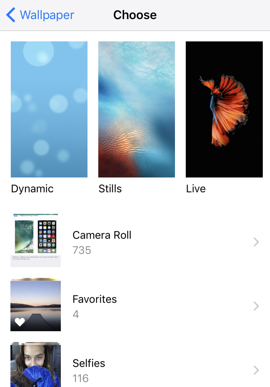 Choose A New Wallpaper Iphone 6 7 Ios 10 Ios10 - Change Wallpaper On Iphone 7 Plus - HD Wallpaper