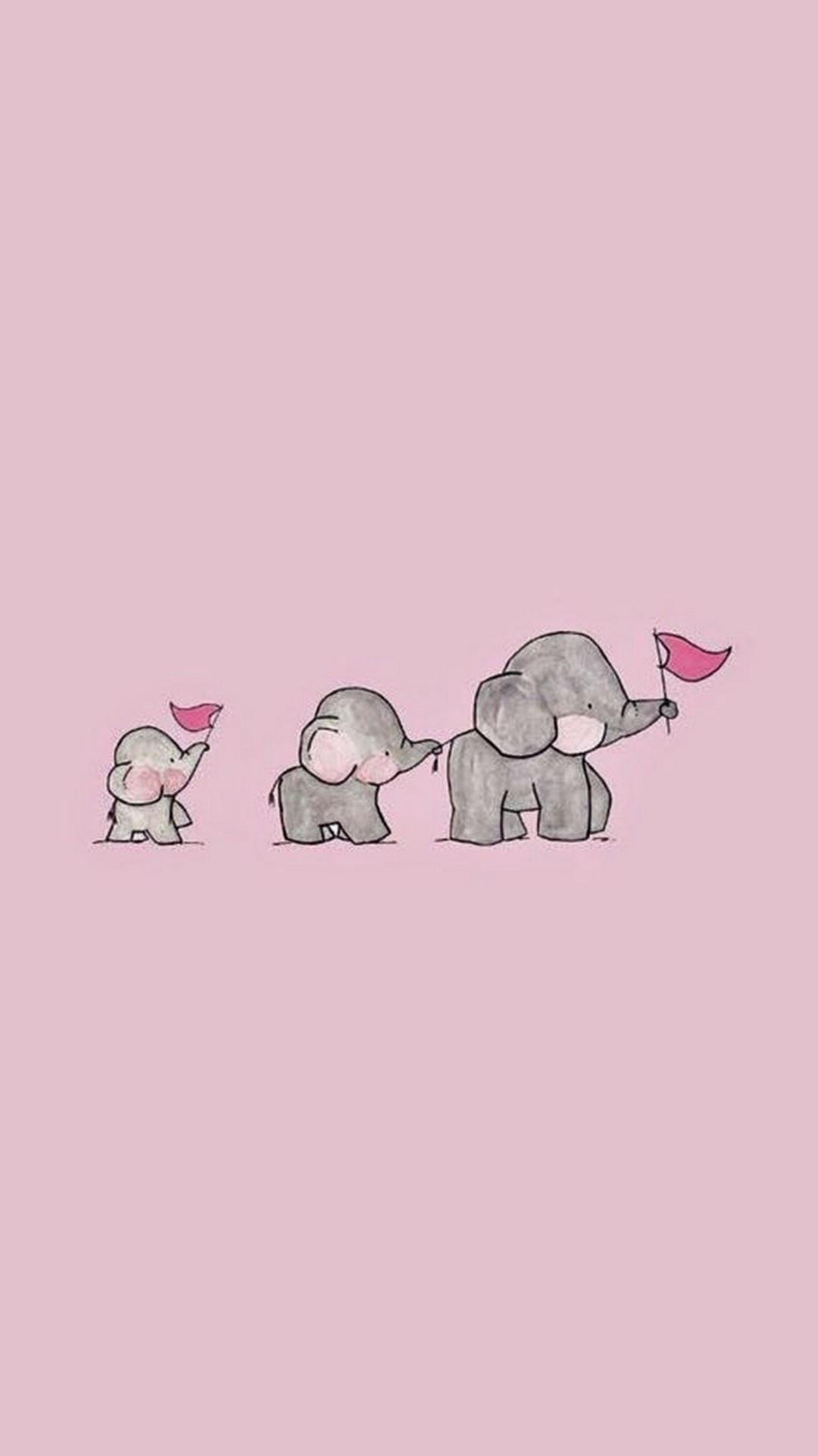 0 9262 cute animated pink wallpaper android with hd resolution