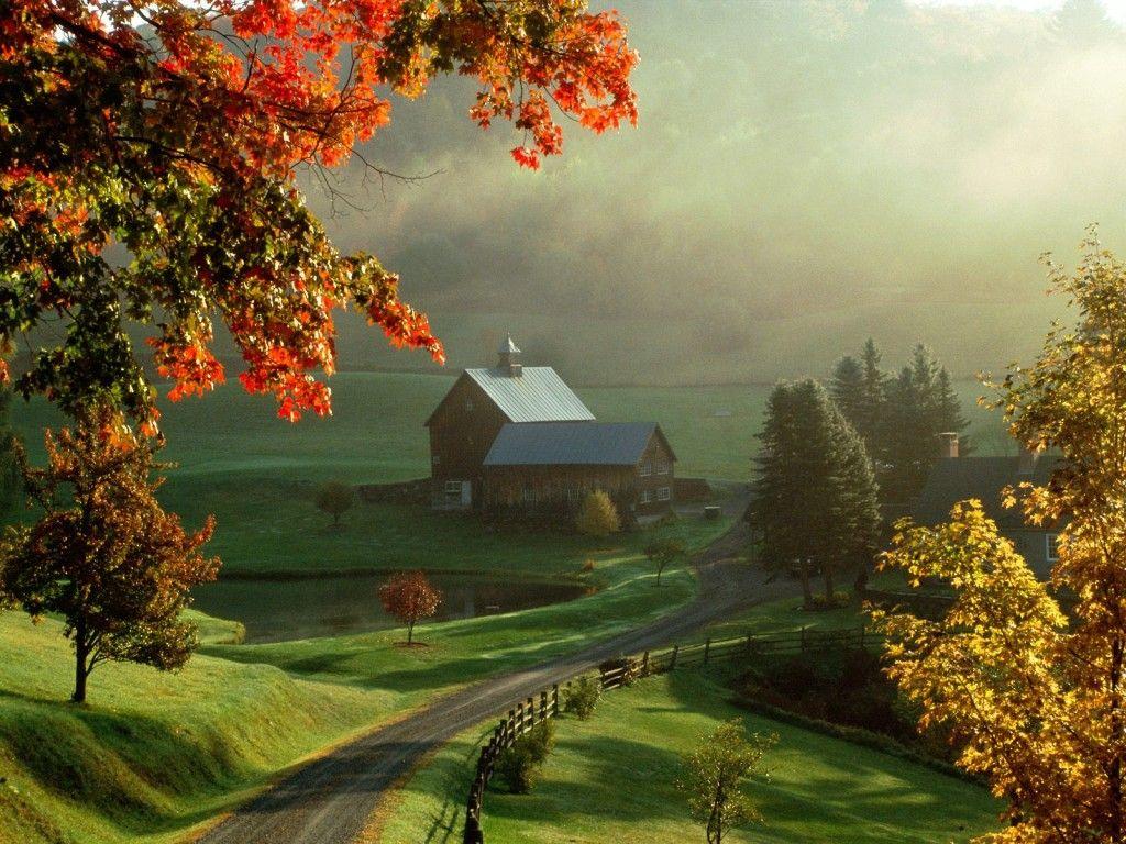Fourth Park Most Beautiful Hd Free Wallpapers - Beautiful New England Fall - HD Wallpaper