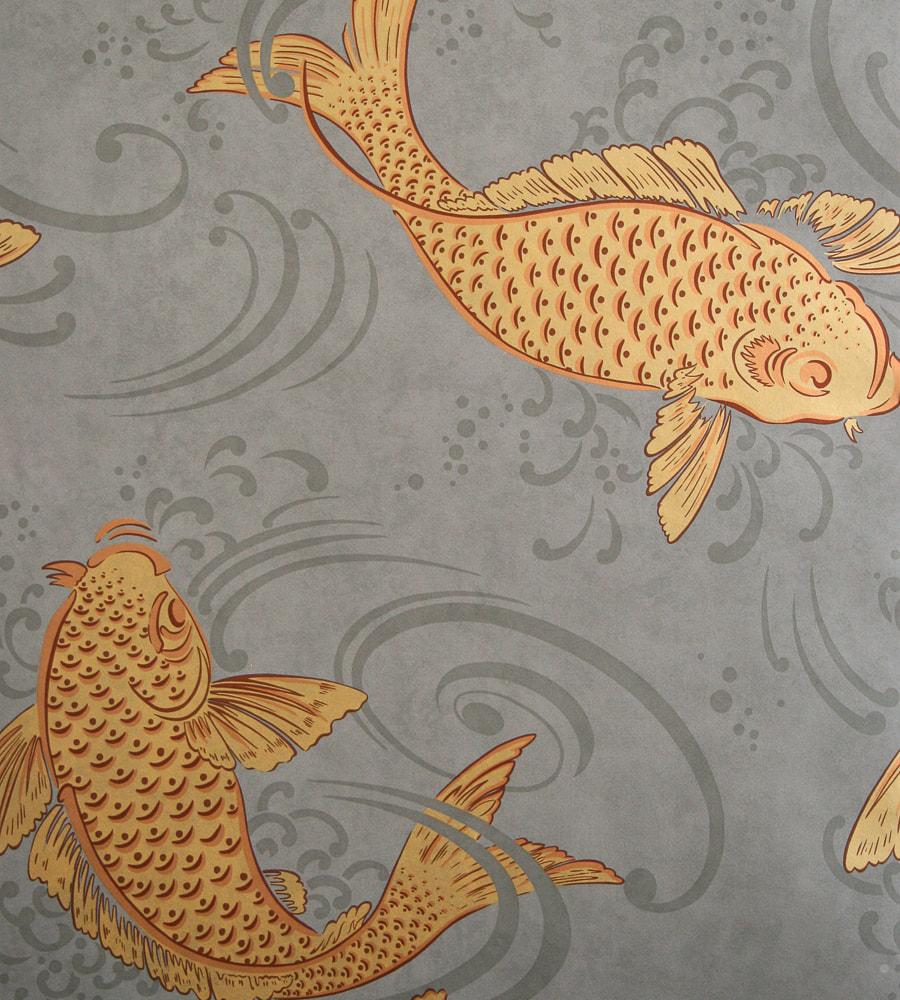Koi Fish Wallpaper - Derwent Osborne And Little - HD Wallpaper