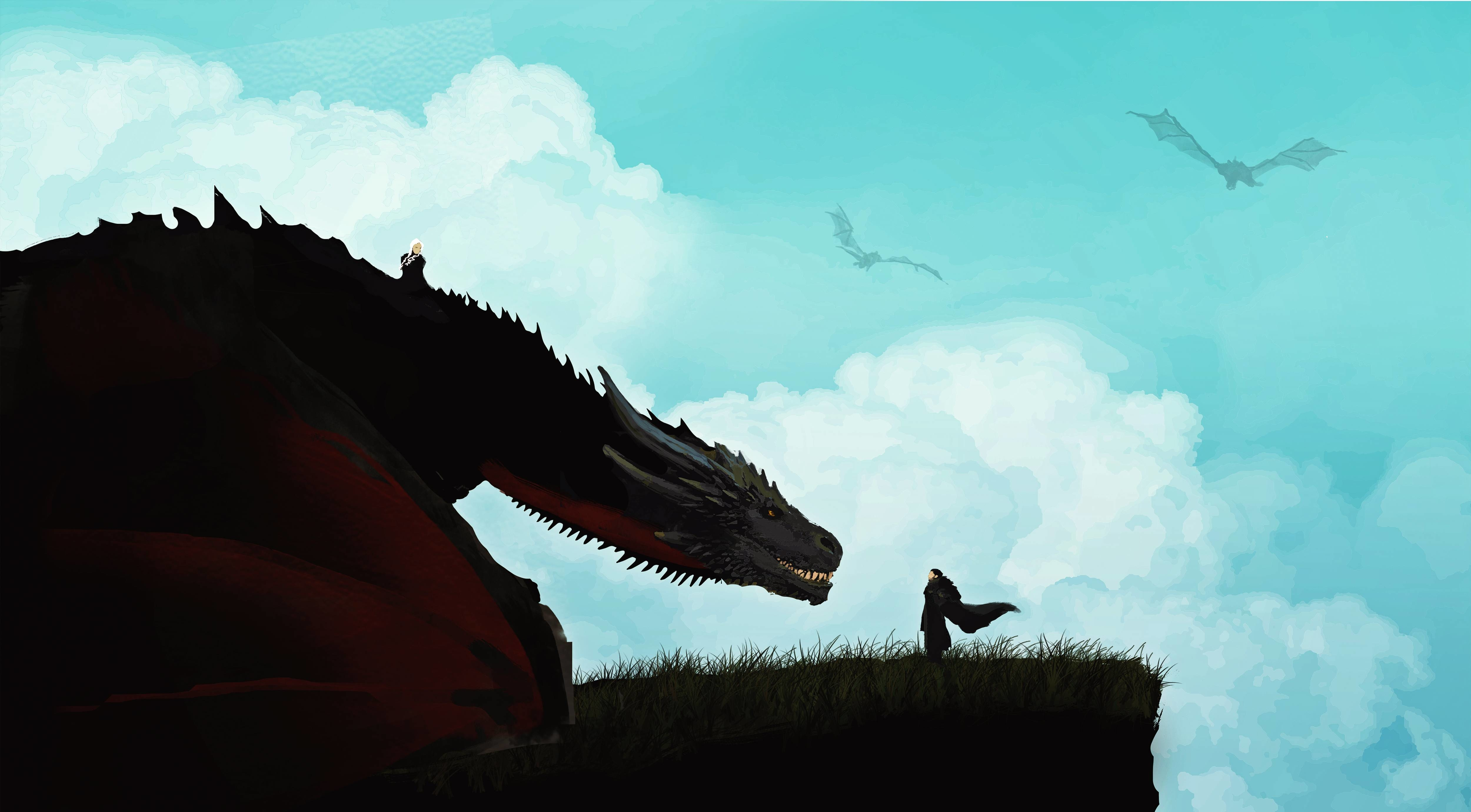 Game Of Thrones Wallpaper 4k For Pc - Game Of Thrones Hd Desktop - HD Wallpaper