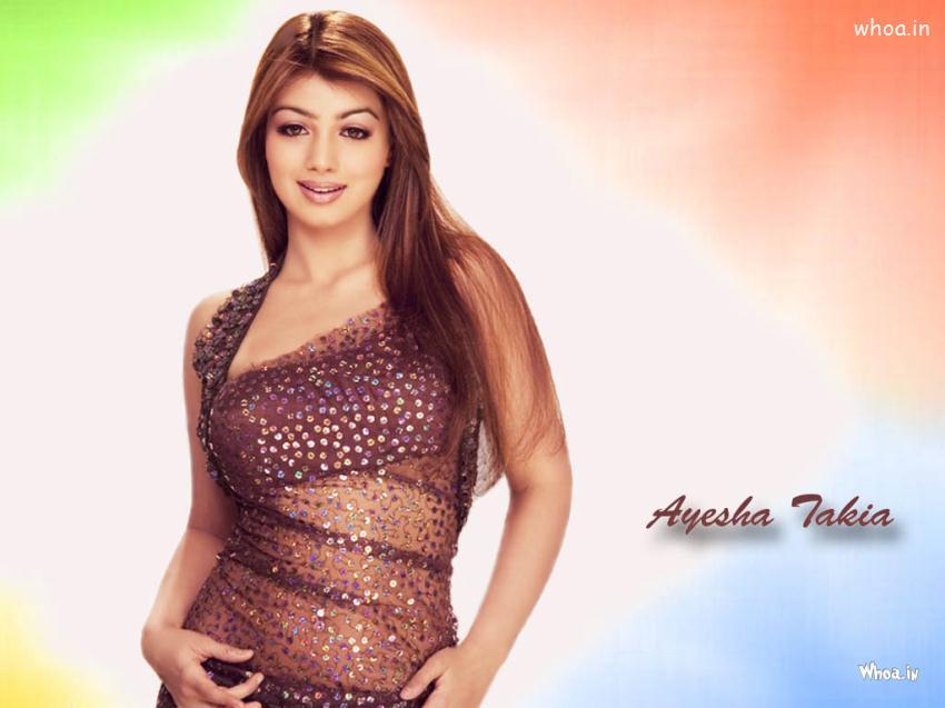Beautiful Ayesha Takia Colorful Wallpaper - Ayesha Takia Hot Hd - HD Wallpaper