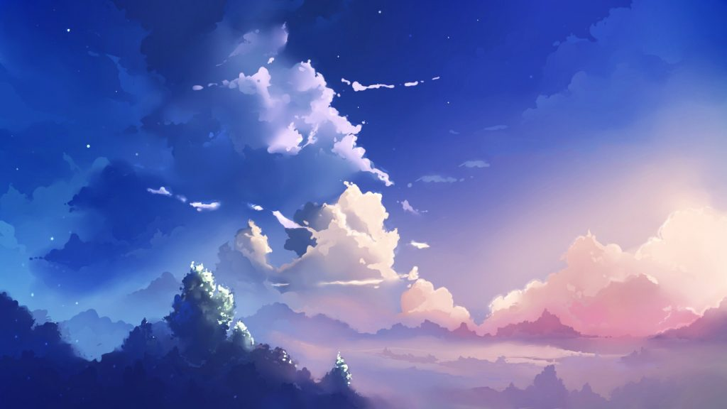 Anime Scenery Wallpaper 61 60hd1 Livewallpaperswide - Anime Scenery - HD Wallpaper