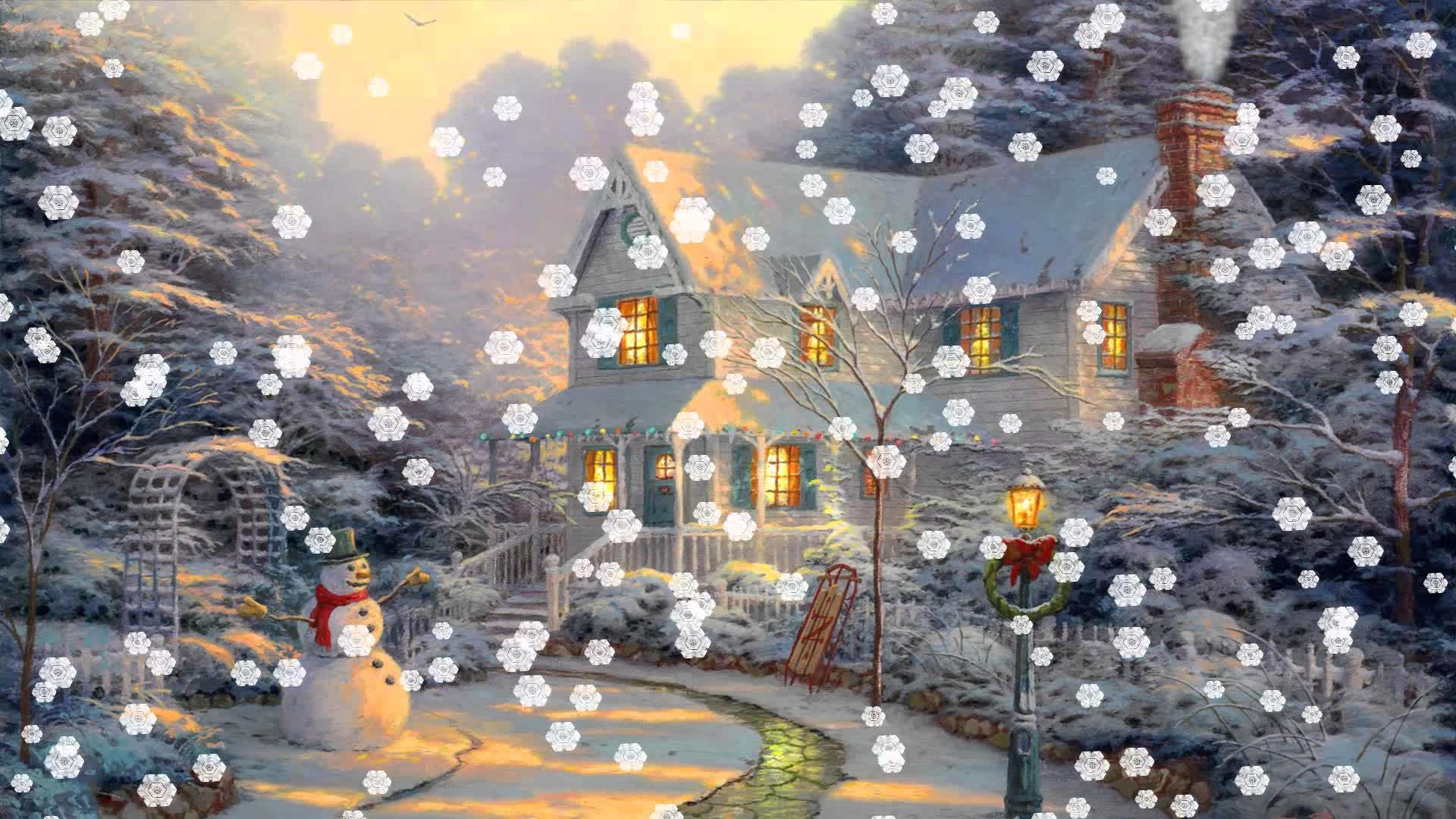 1920x1080, Christmas Eve Animated Wallpaper Http - Animated Wallpaper Christmas - HD Wallpaper