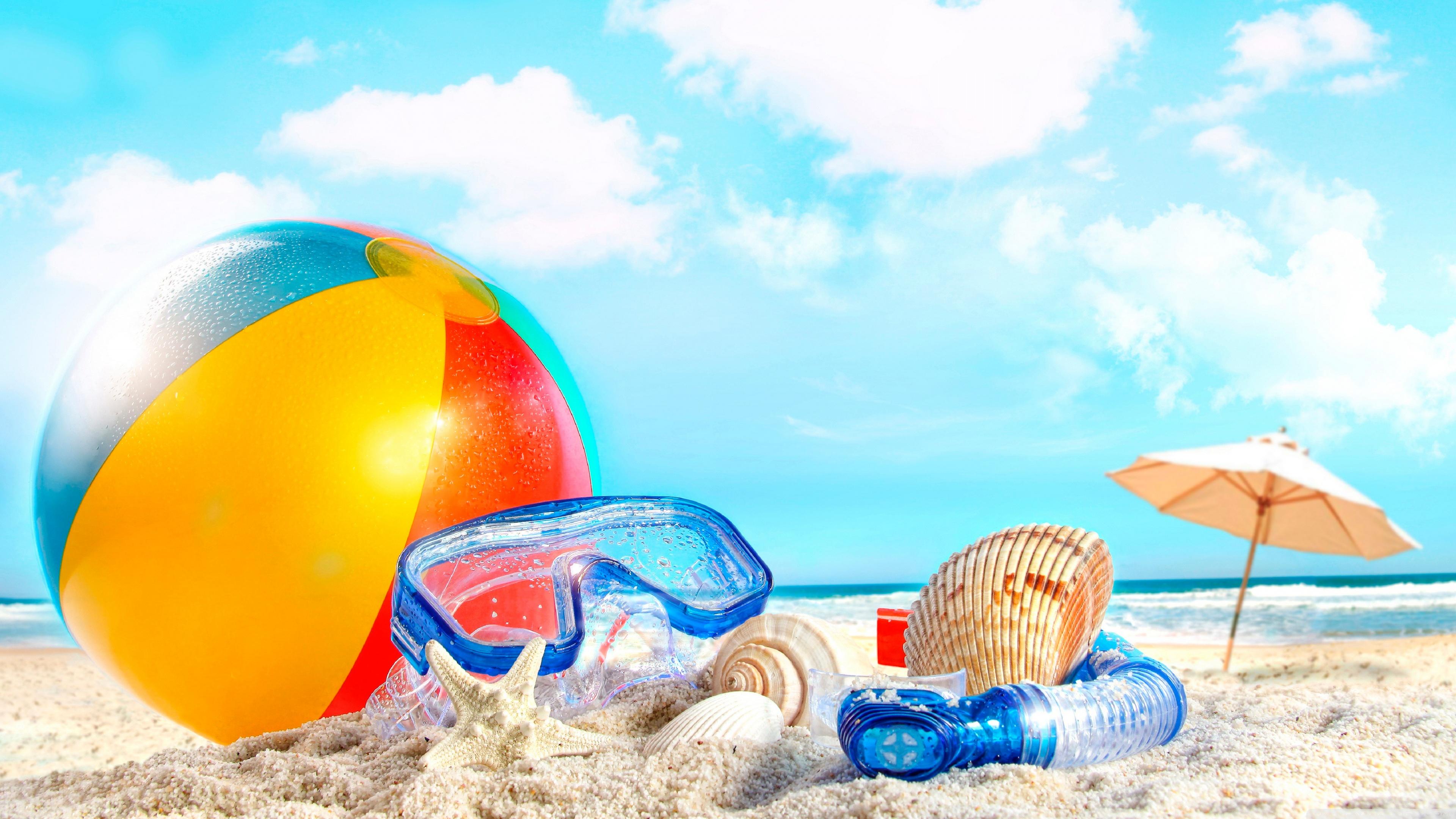 Summer Holiday Hd Desktop Wallpaper High Definition - Summer Backgrounds Free - HD Wallpaper