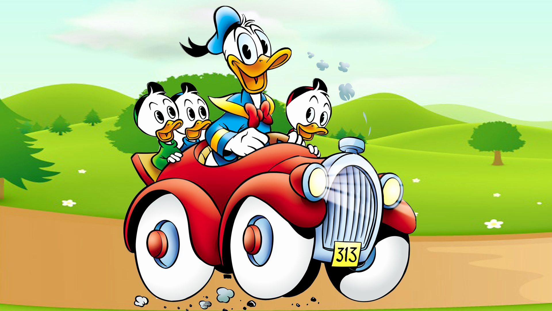 Car Cartoon Wallpaper New Donald Duck Cartoon Image Donald Duck