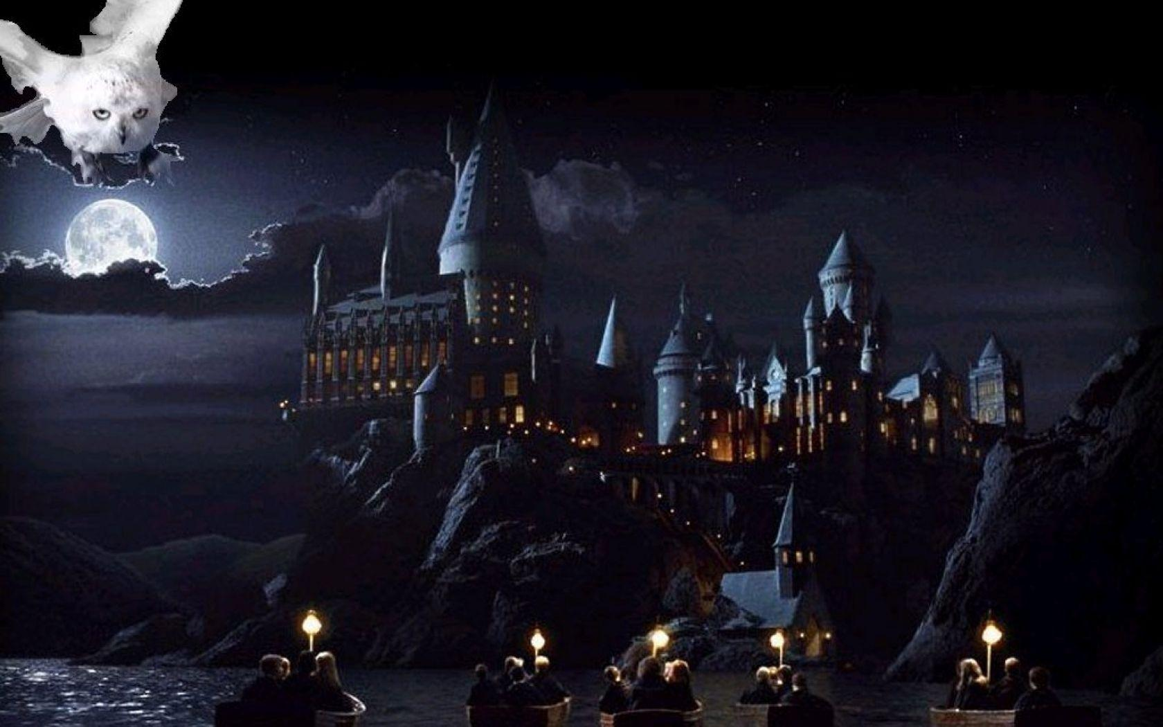 Harry Potter Desktop Wallpaper Hd - Harry Potter Wallpaper Hogwarts Castle - HD Wallpaper