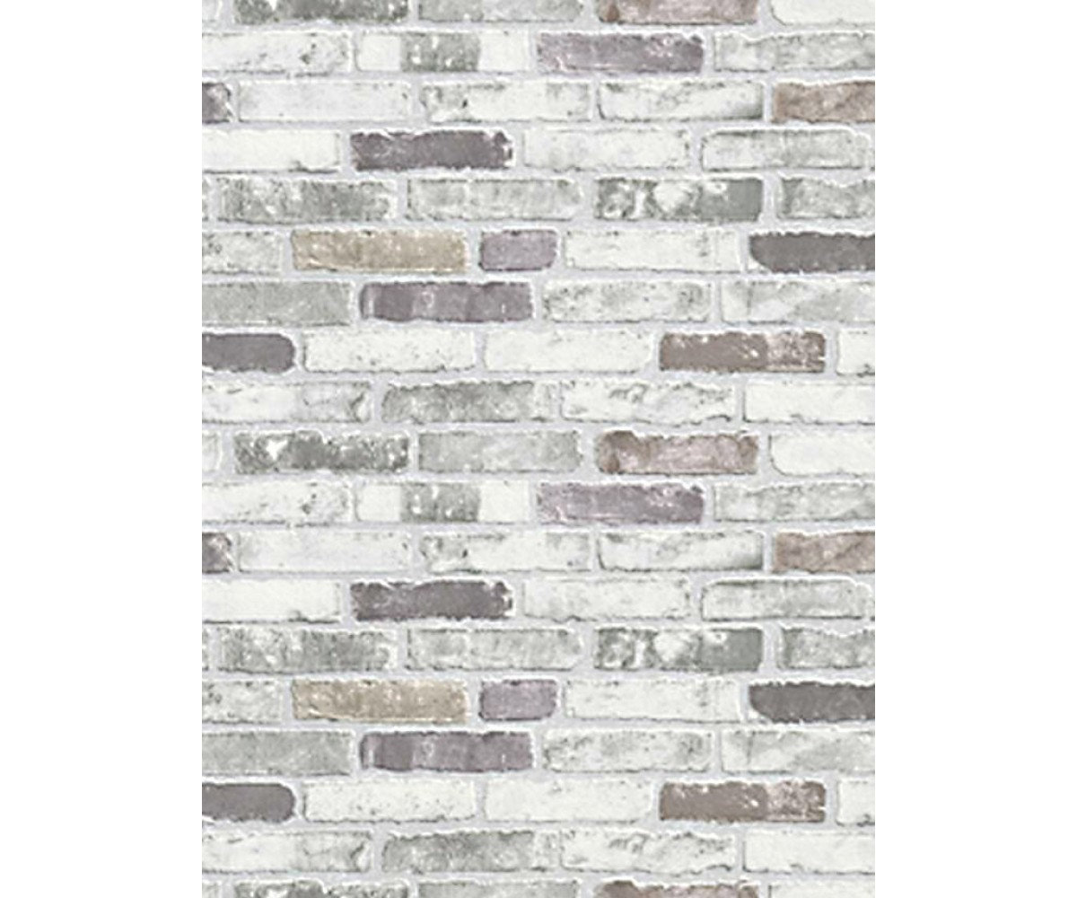 White And Gray Brick - HD Wallpaper