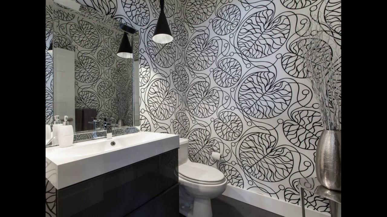 Modern Bathroom Wallpaper Design - HD Wallpaper