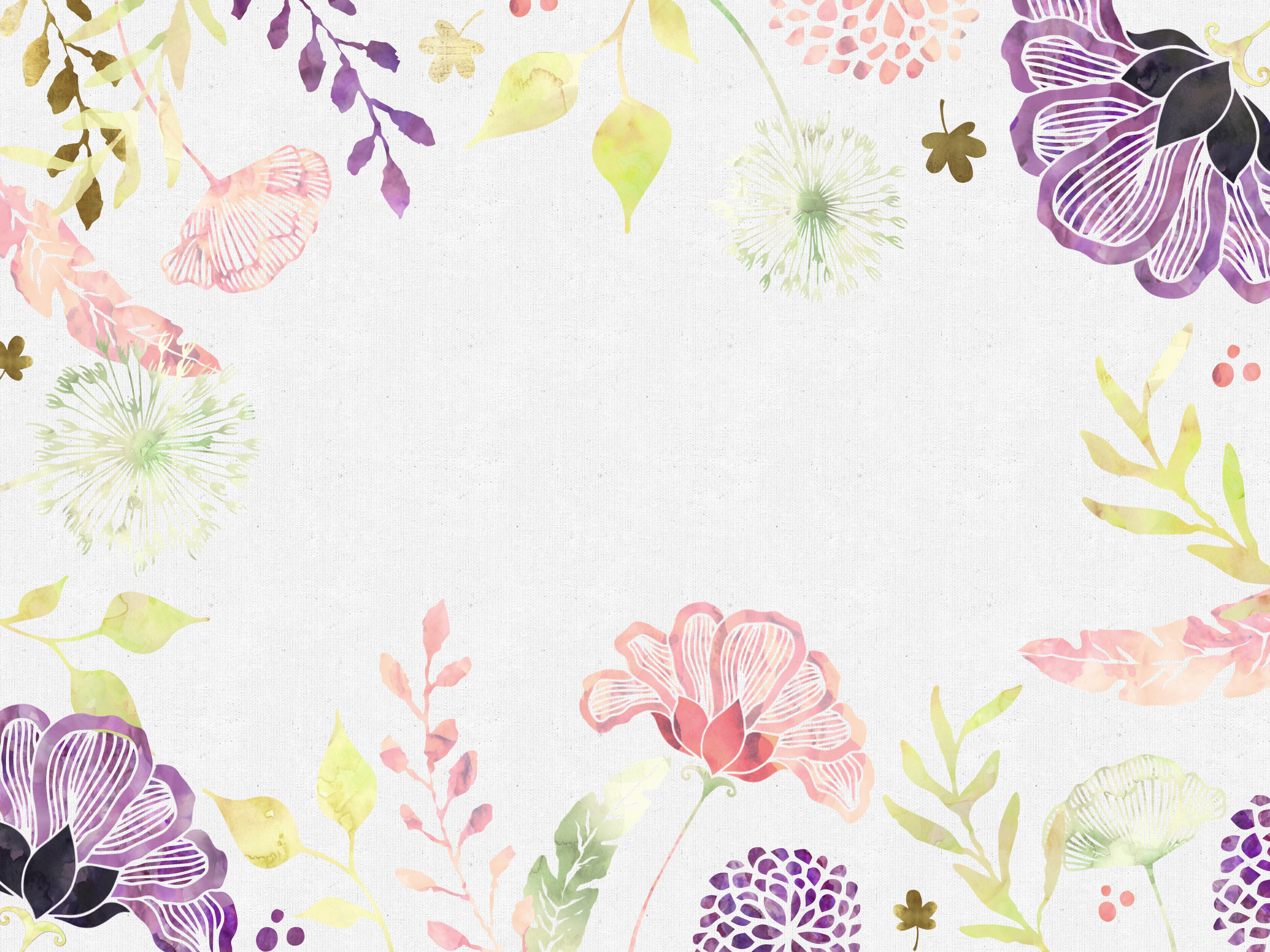 2560x1920, Free Floral Desktop Wallpaper I Choose Happiness - Floral Wallpaper Desktop - HD Wallpaper