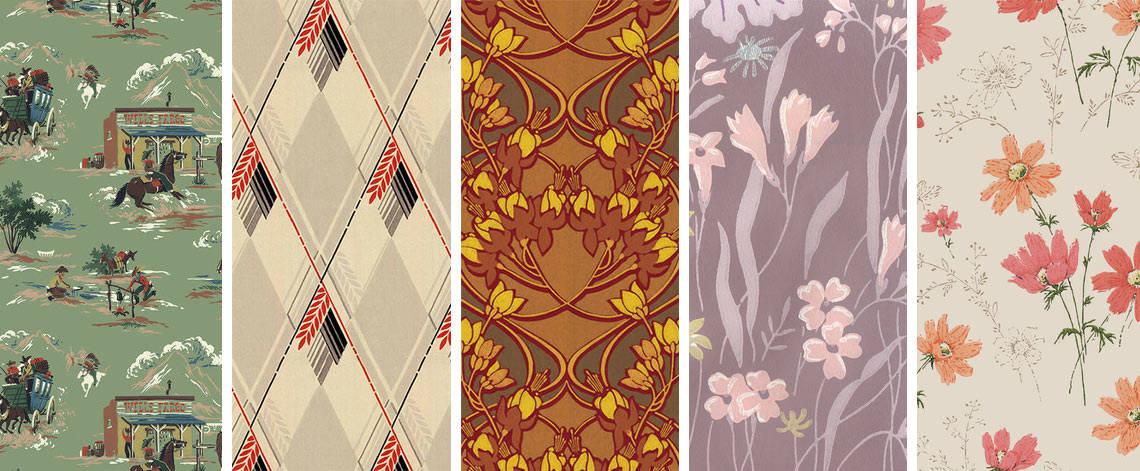 Design Your Wall Vintage Wallpaper - Vintage Wallpaper Design - HD Wallpaper