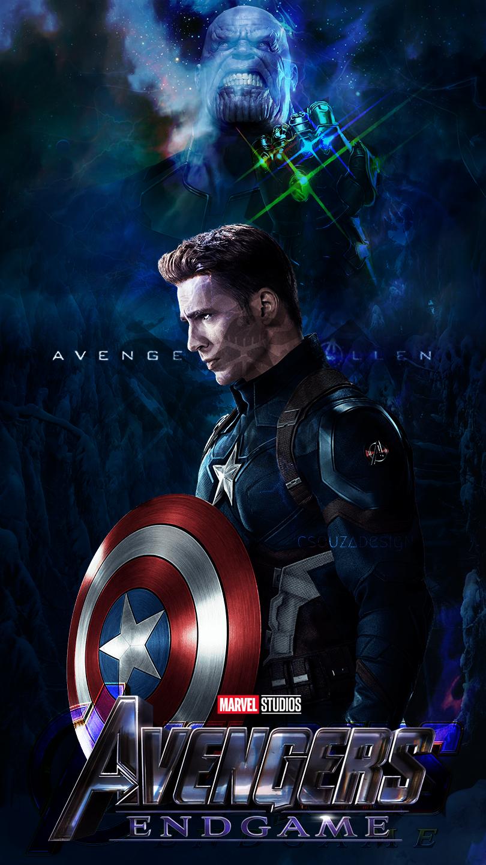 Captain America - Captain America Avengers Endgame - HD Wallpaper