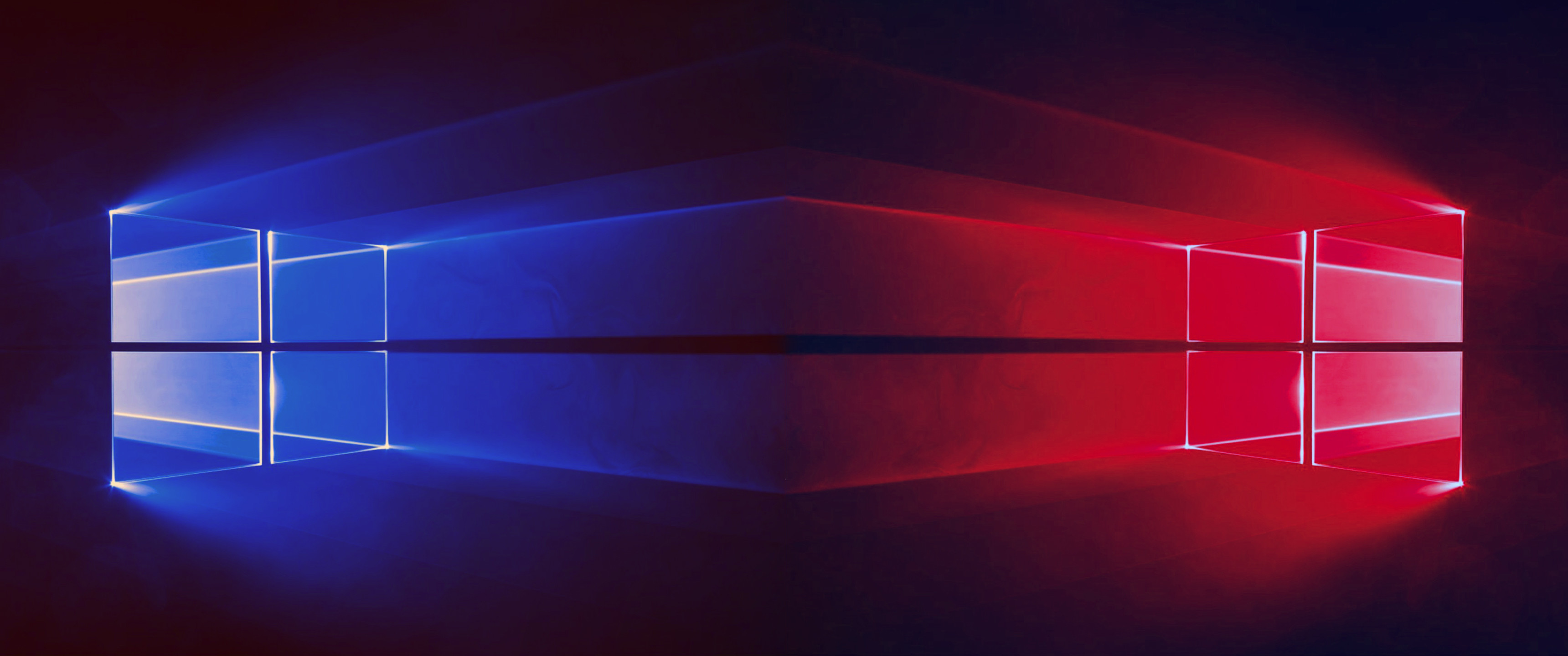 Red Windows 10 Wallpaper Hd Window 10 Backgrounds Blue And Red 3440x1440 Wallpaper Teahub Io