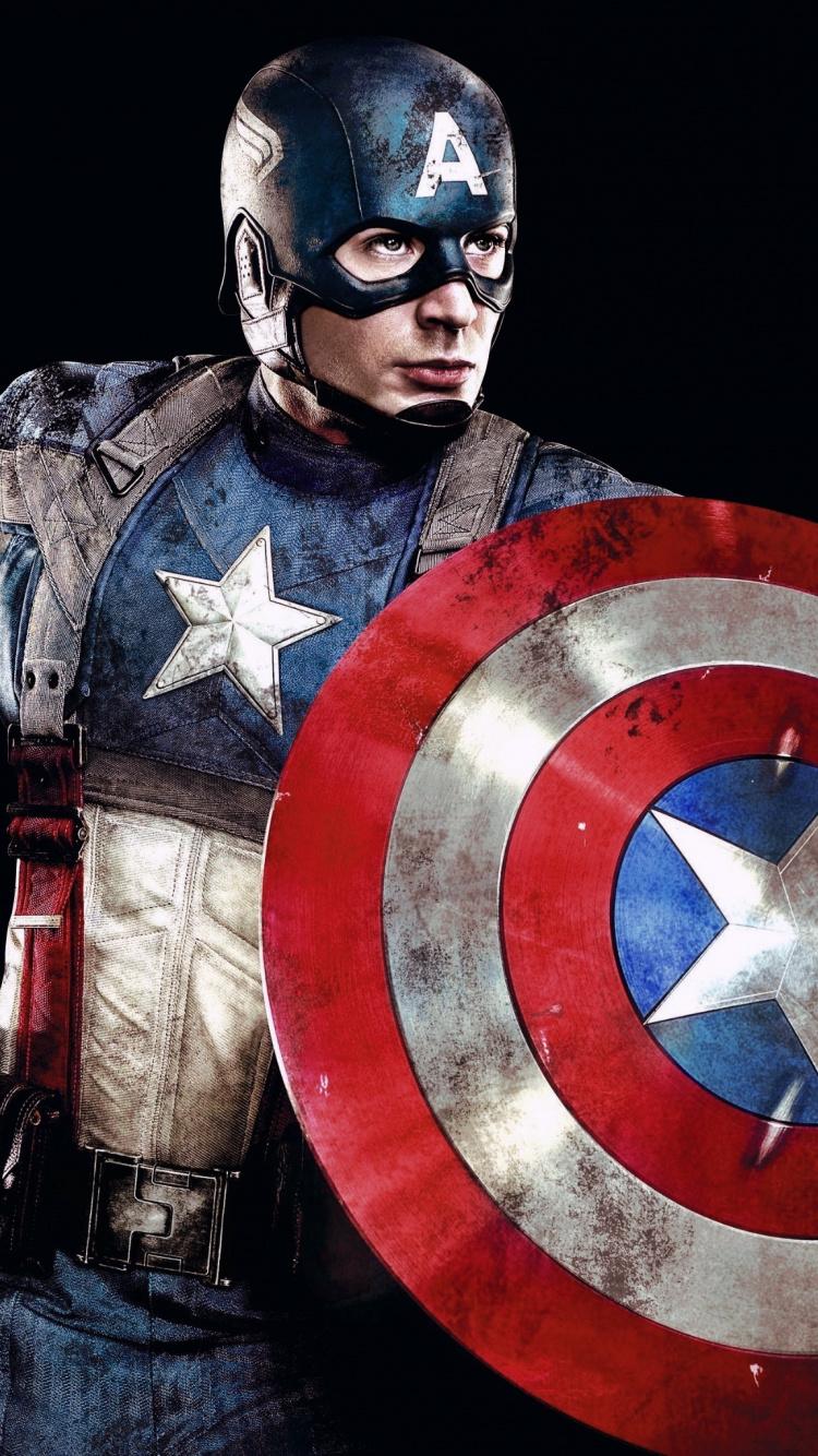 Captain America, Superhero, Marvel Studio, Avengers, - Iphone Captain America Hd - HD Wallpaper