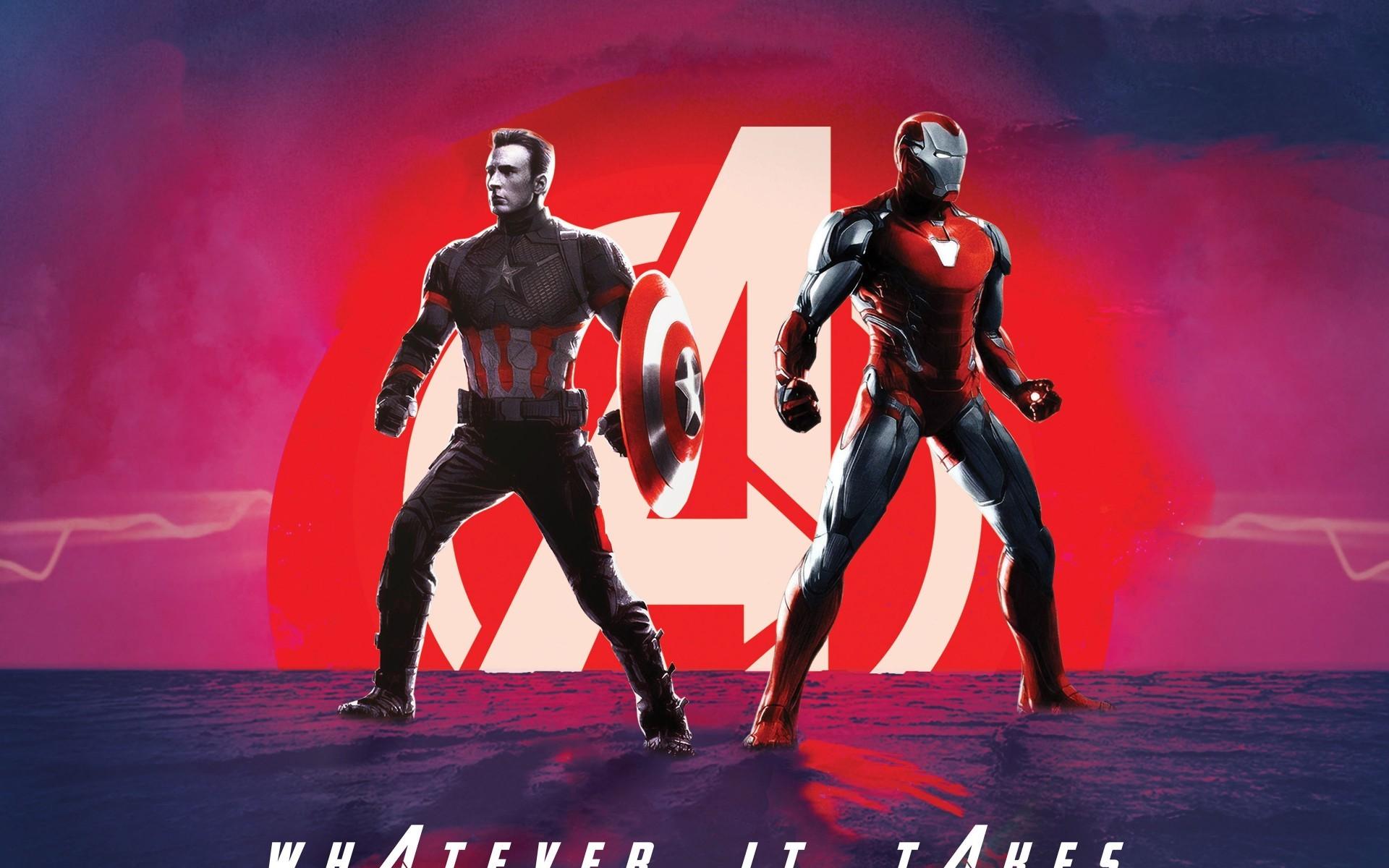 Iron Man, Avengers - Avengers Endgame Captain America - HD Wallpaper
