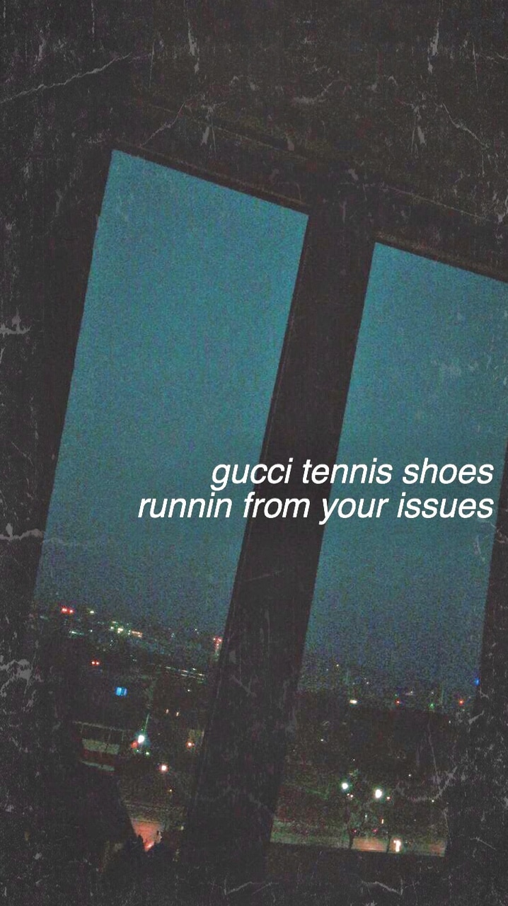 Aesthetic, Wallpaper, And Song Lyric Image - My Head Ariana Grande - HD Wallpaper