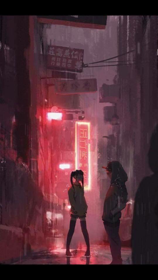 Aesthetic Anime Backgrounds - Aesthetic Anime Wallpaper Iphone - HD Wallpaper