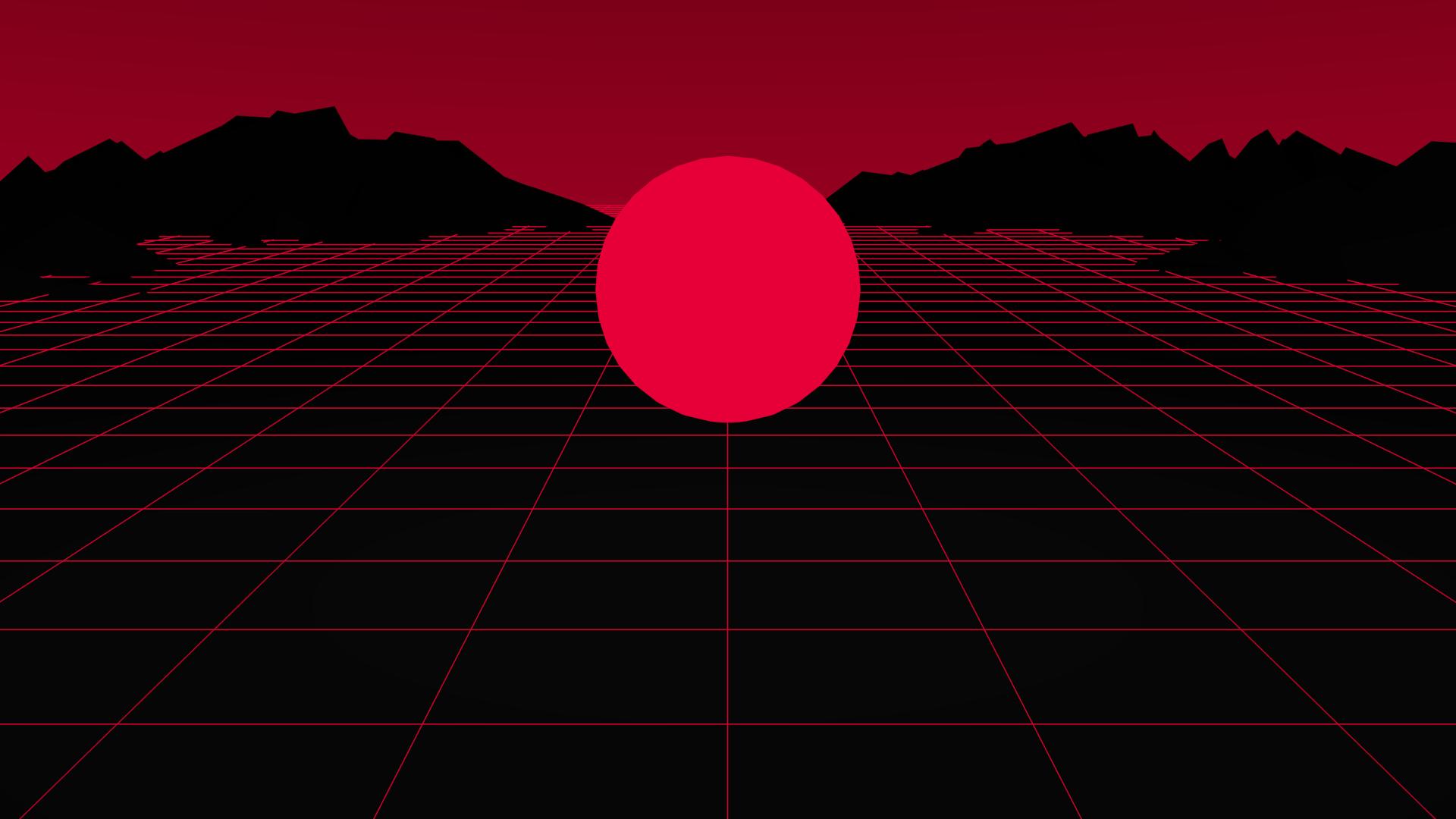 80s Aesthetic Wallpaper Red - Red Aesthetic Background Desktop - HD Wallpaper