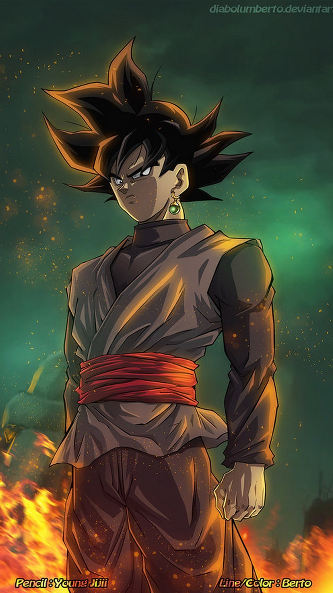 Wallpaper Android Black Goku With Hd Resolution Goku Black Wallpaper Phone 1080x1920 Wallpaper Teahub Io