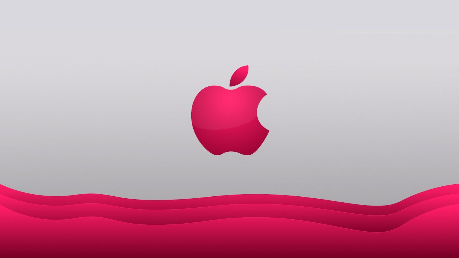 10 108598 wallpaper cantik apple background pink