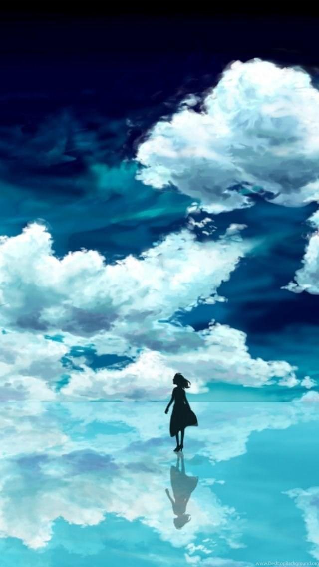 Anime Wallpaper Iphone 5 - Anime Scenery Wallpaper Portrait Hd - HD Wallpaper