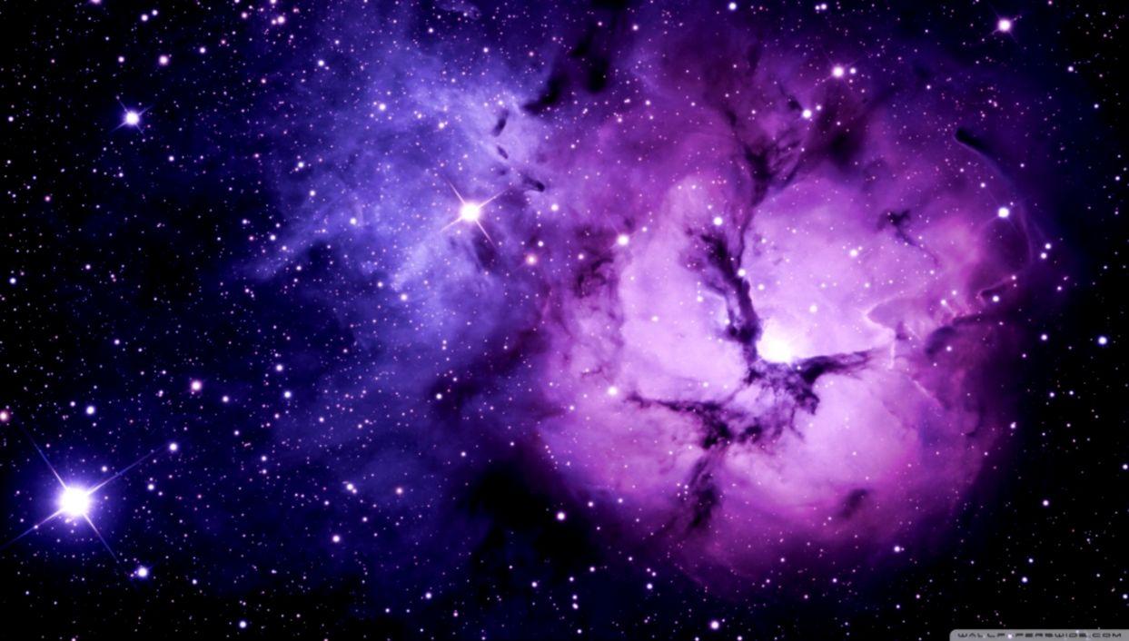 Purple Nebula ❤ 4k Hd Desktop Wallpaper ...