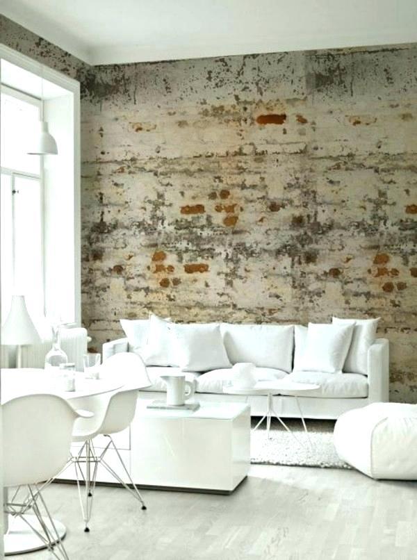 Wallpaper For Living Room Modern Modern Wallpaper Ideas - Living Room Industrial Design - HD Wallpaper