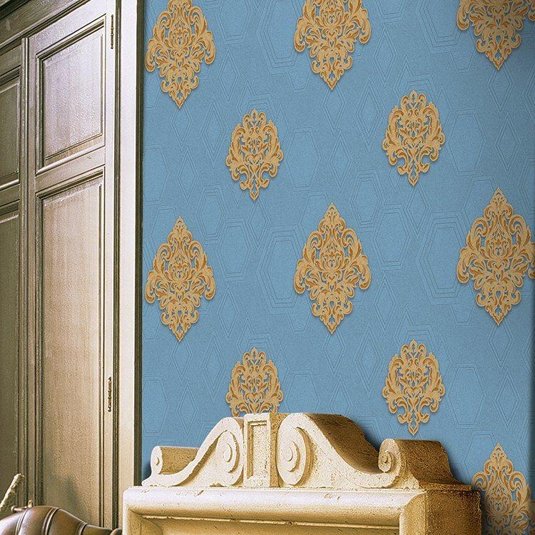 Living Room Luxury Wallpaper Designer Wallpaper Pictures - Wall - HD Wallpaper