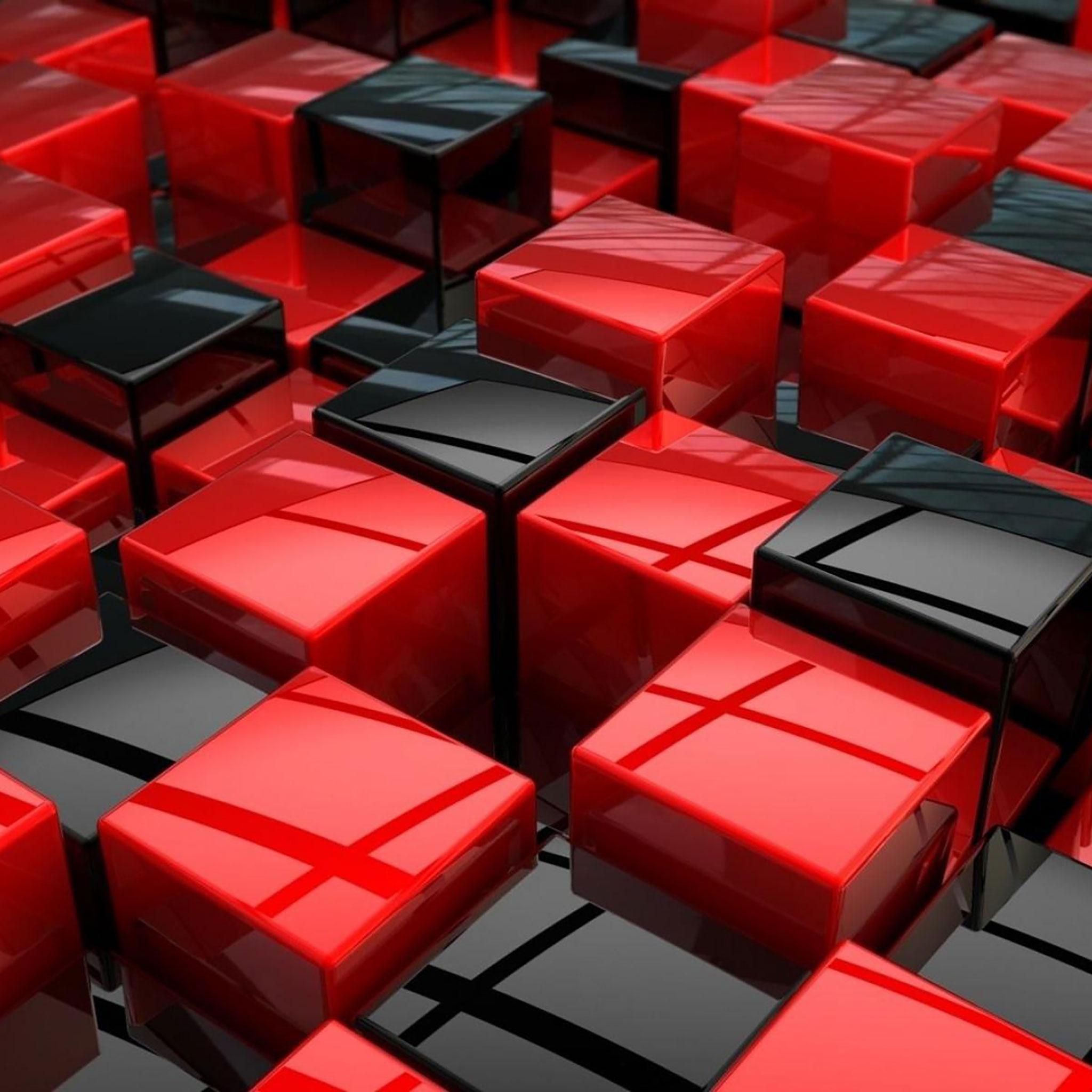 Black Cubes - 2048x2048 Wallpaper ...