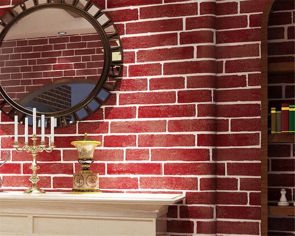 Red Brick Wall Home Decor - HD Wallpaper