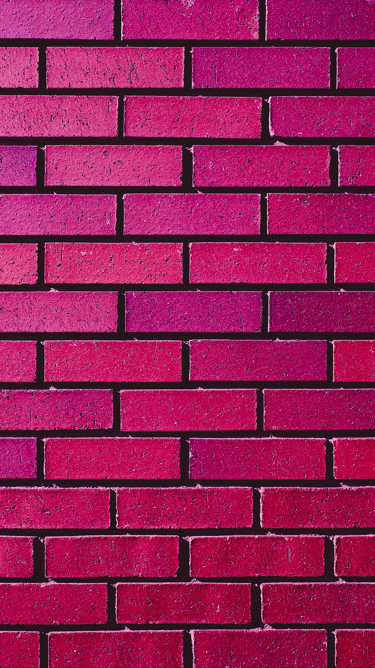 Wallpaper Wall, Brick, Texture, Pink, Purple, Shades - Iphone Brick Wall Wallpaper Hd - HD Wallpaper