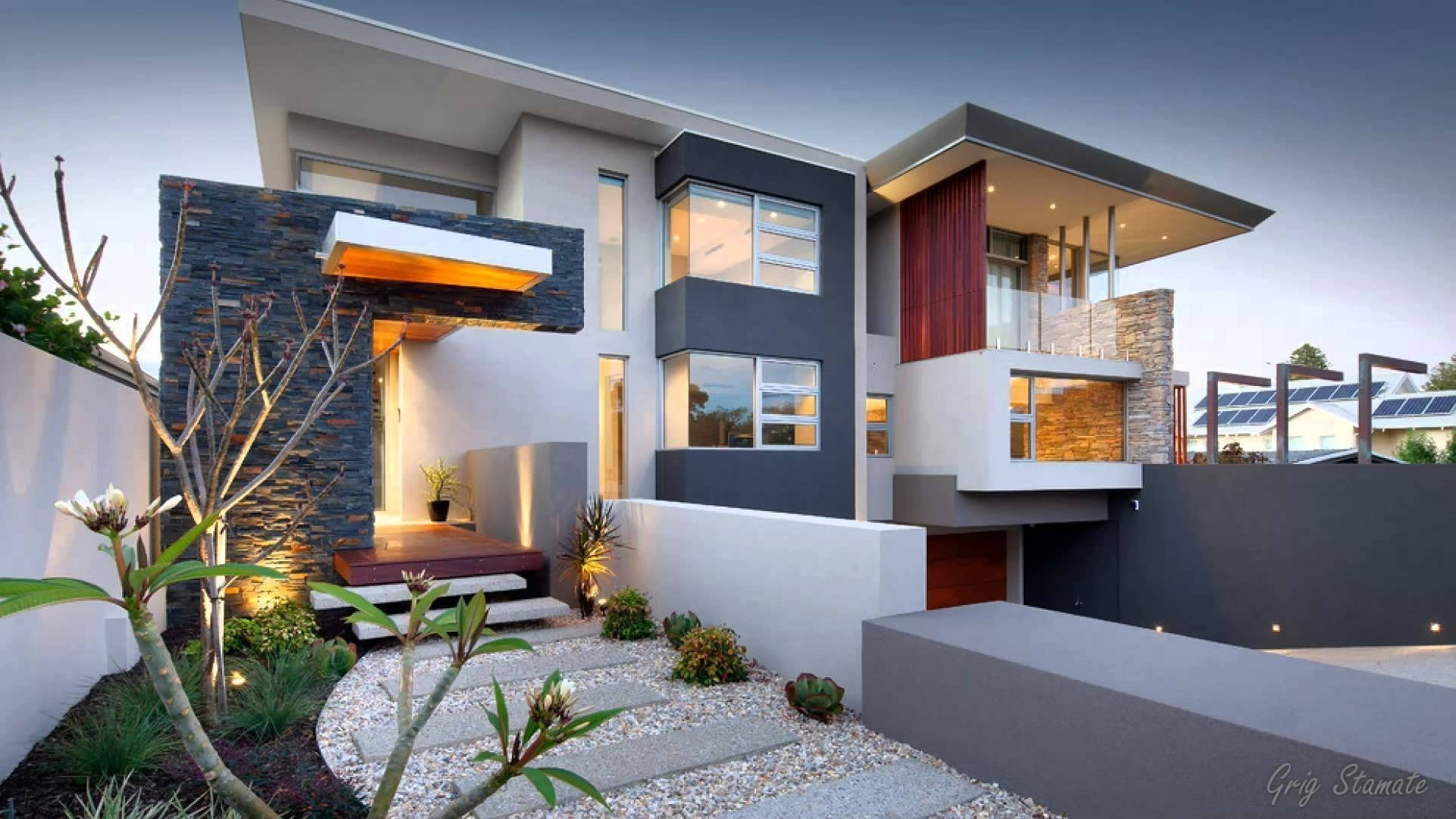 New Modern Luxury Home Hd Wallpaper - Ultra Modern Best Modern House Design - HD Wallpaper