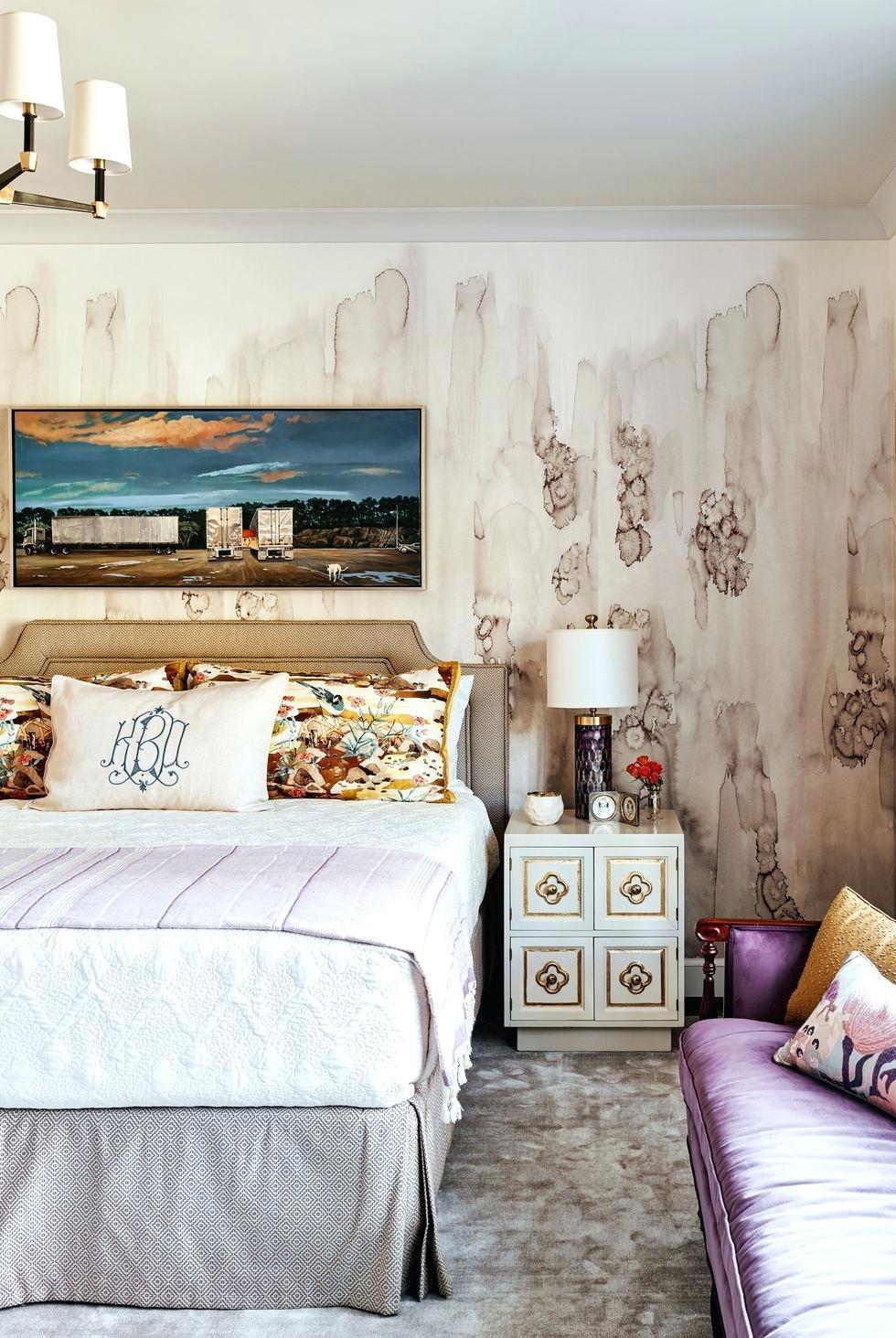 Contemporary Bedroom Wallpaper Bedroom Wallpaper Ideas - HD Wallpaper