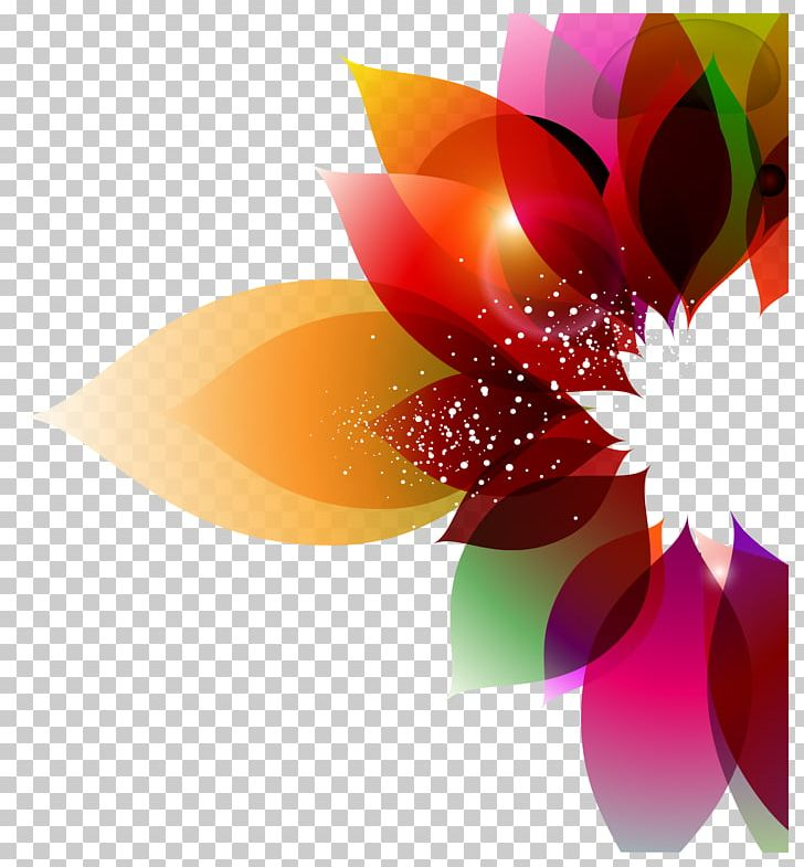 Color Flower Abstract Art Floral Design Png, Clipart, - Design Color Background Hd - HD Wallpaper