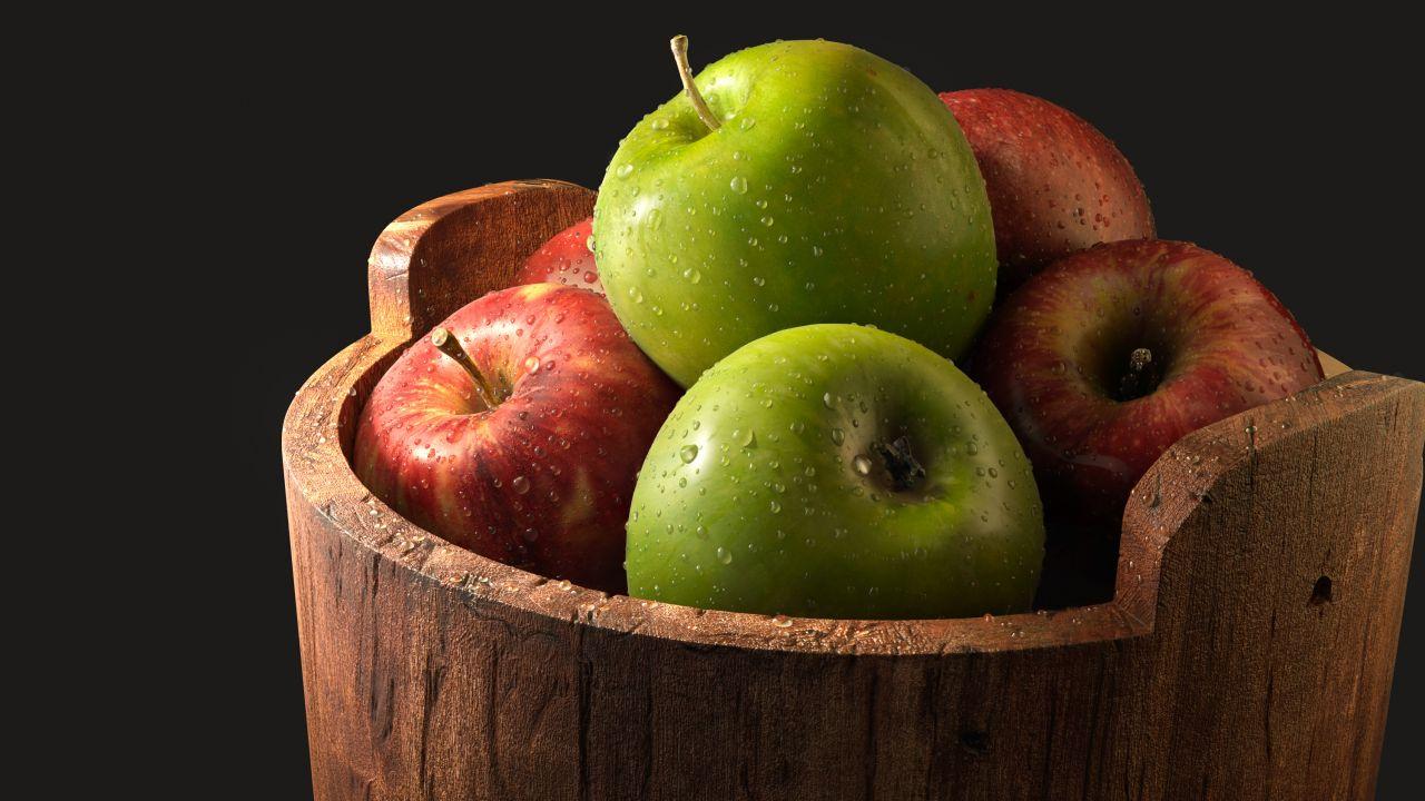 Background Red Fruit Apple 1280x720 Wallpaper Teahub Io
