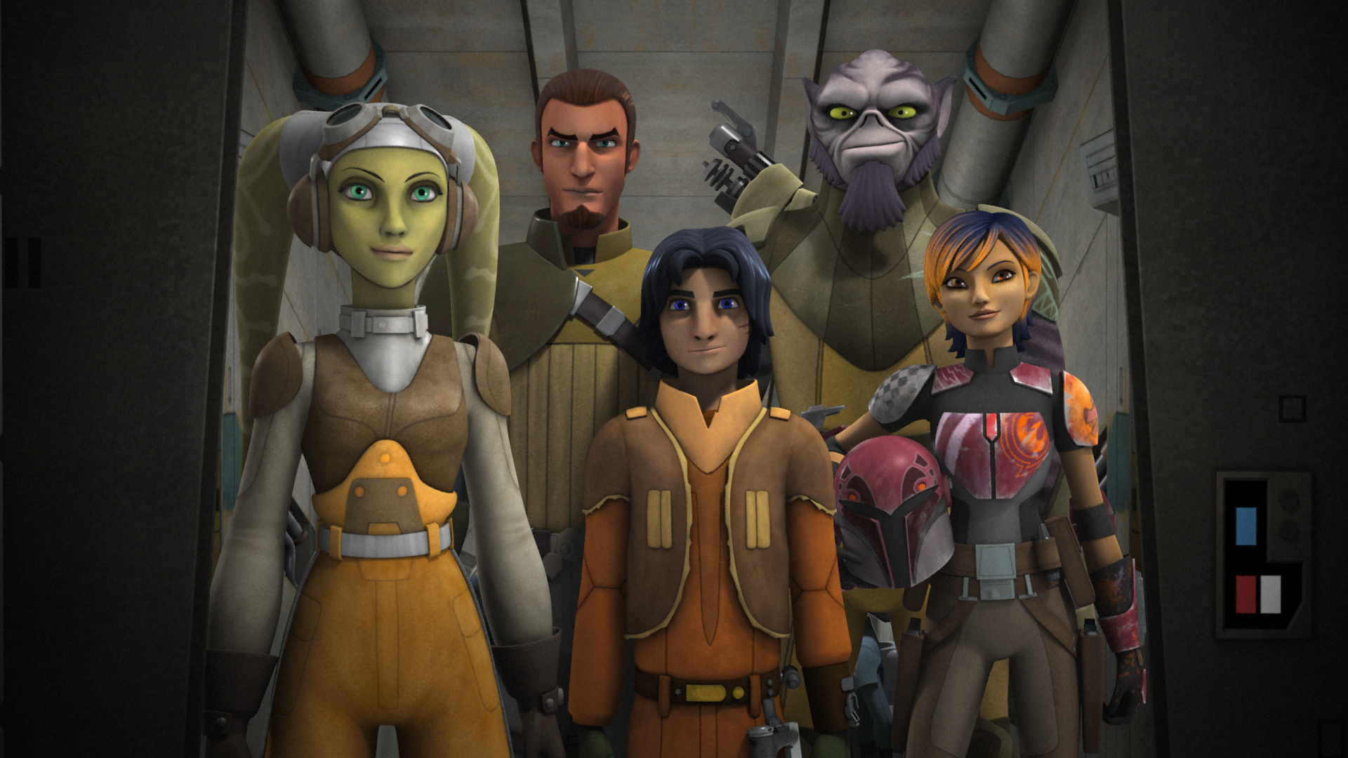 Star Wars Rebels Wallpaper 1920x1080 Wallpaper Teahub Io