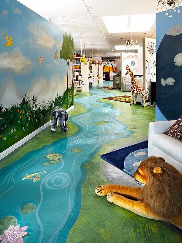 Nature Wall Painting Ideas - HD Wallpaper