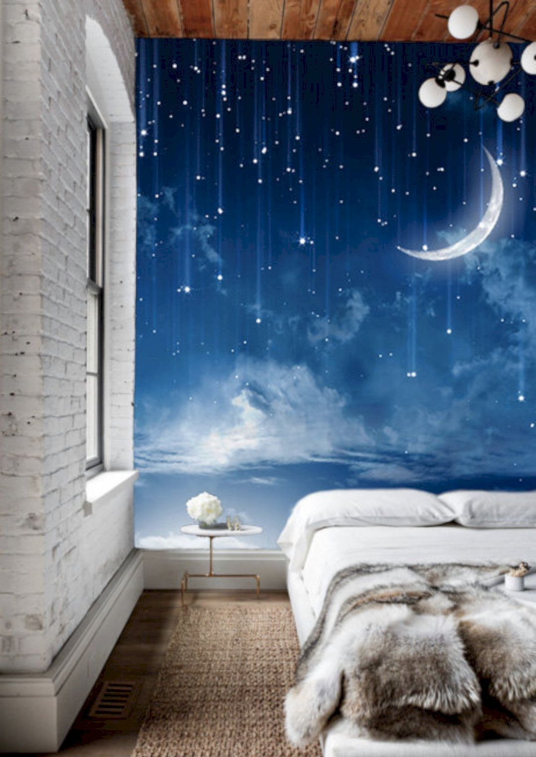 Wall Painting Designs For Bedroom - HD Wallpaper